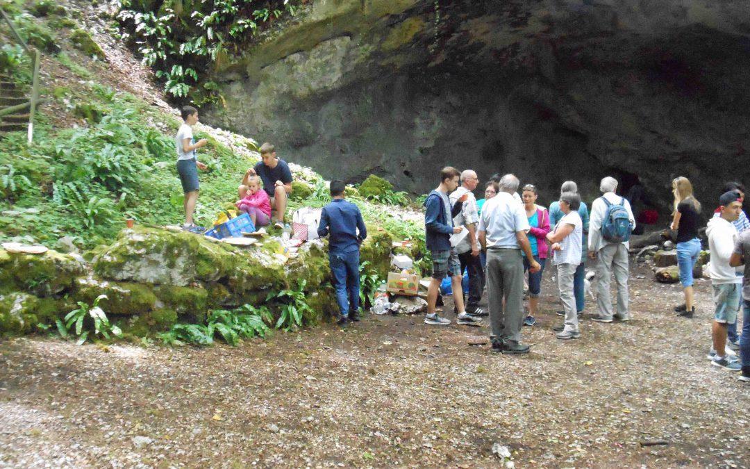 Pique-nique Grotte de St Nicolas